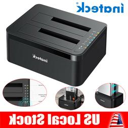 Inateck USB 3.0 HDD Docking Station Dual Bay Offline Clone 2