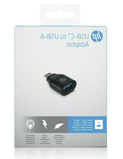HP USB-C to USB-A Adapter Ideal for Mice Keyboards USB Flash