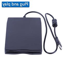"3.5"" USB External Floppy Disk Drive Portable 1.44 MB FDD for"