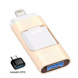 USB Flash Drive 128GB, Sunany Memory Stick External Storage