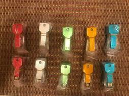 usb flash drive key shape