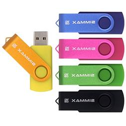 SIMMAX 5pcs 16GB USB Flash Drive U-Disk 16GB USB 2.0 Flash M