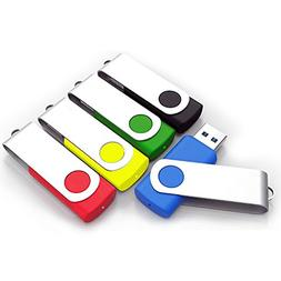 USB Home 8GB High Speed USB 2.0 Flash Drive Memory Stick, Mi