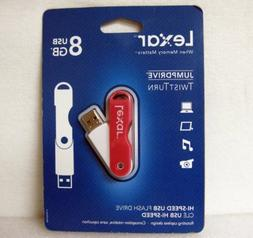 Lexar 8gb Usb Jumpdrive Twist Turn Pink