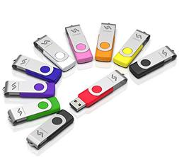 10 X 2GB USB2.0 Flash Drive in Bulk Thumb Drives Jump Drive