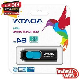 ADATA UV128 64GB USB 3.0 Speed Retractable Capless USB Flash