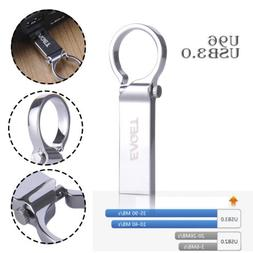Waterproof Key Ring USB 3.0 16/32/64GB Metal Flash Drive Mem