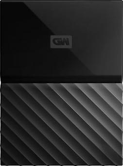WD 2TB Black My Passport Portable External Hard Drive - USB