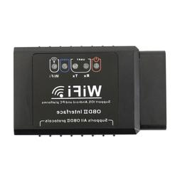 WiFi OBDII ELM327 OBD2 Auto Scanner For iPhone Android PC Ca