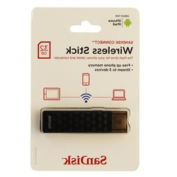 SanDisk Wireless Connect 32GB Media USB Drive - WiFi - Seale