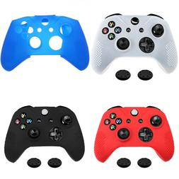 For Xbox One S Controller Silicone Rubber Skin Protector Cas