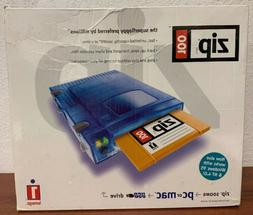 Iomega Zip 100MB External USB Drive New in Box -- Software,